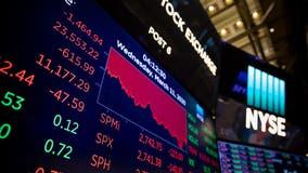 Worst day on Wall Street since 1987 as coronavirus fears spread