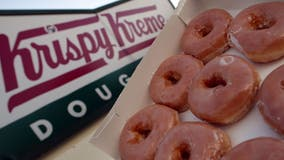 Krispy Kreme will be offering free doughnuts on Mondays to health care workers