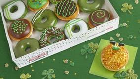 Krispy Kreme debuting 'greenified' doughnuts for St. Patrick's Day