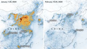NASA images show how China's pollution has decreased during coronavirus outbreak