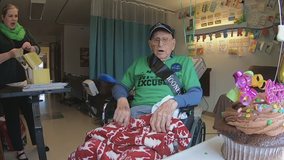 Man celebrates 100th birthday during COVID-19 quarantine in NJ care facility
