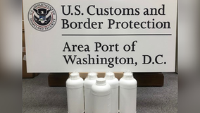 13 pounds of date-rape drug seized at Washington Dulles International Airport