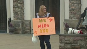Ambler preschool teachers hold wave parade for students during school closure amid COVID-19 pandemic