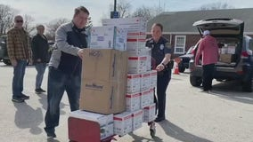 Volunteer group donates medical supplies to hospitals in need