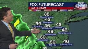 Weather Authority: Rainy, cooler Saturday ahead