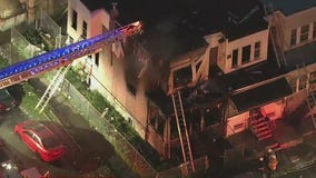 Officials: Woman, 2 children killed in Southwest Philadelphia row home fire