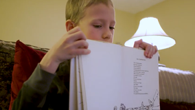 7-year-old reads to his grandmother over video chat amid coronavirus lockdown