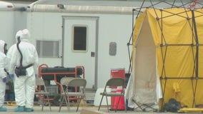Coronavirus drive-thru testing site opens in Montgomery County