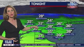 Weather Authority: Possible sprinkles Wednesday night leads to a pleasant Thursday