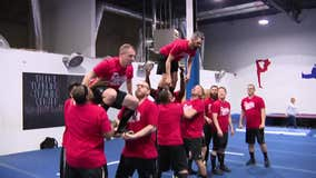NJ dads join cheerleading squad to bond with daughters