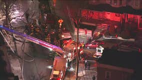 2 men killed, 5 firefighters injured in house fire in Berks County