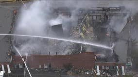 No injuries reported after large fire at strip mall in Cherry Hill
