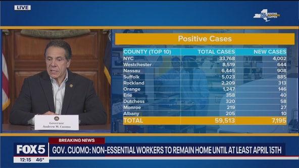 New York has 1,000 coronavirus deaths