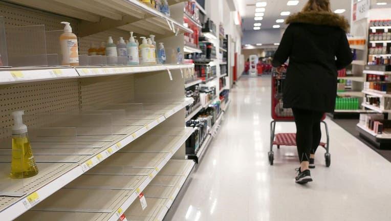 Coronavirus leads to empty store shelves