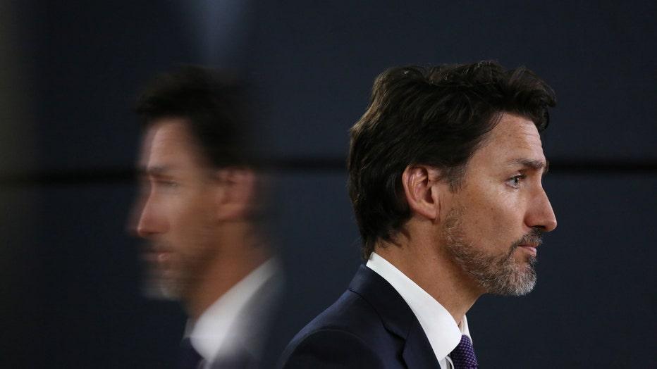 TOPSHOT-CANADA-POLITICS-ACCIDENT-TRUDEAU