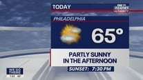 Weather Authority: Pleasant Sunday with mix of sun and clouds