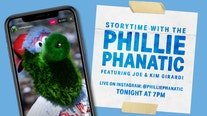 Phillie Phanatic launching virtual storytime with celebrity readers