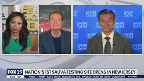 Dr. Oz discusses saliva testing site in New Jersey, discarded food from American farmers