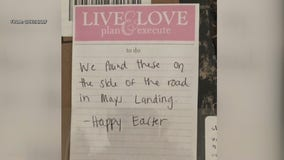 South Jersey family searching for woman who delivered lost Easter gifts