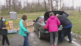 Upper Salford church serves as FEMA food distribution site for families in need