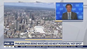 Philadelphia expected to be the next 'hot spot' for COVID-19