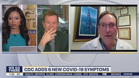 Health officials warn of new COVID-19 symptoms