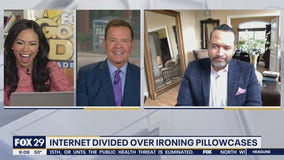 Internet divided over ironing pillowcases and sheets