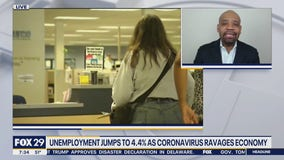 Unemployment jumps to 4.4% as coronavirus ravages economy