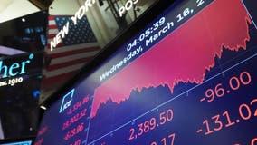 Stocks stumble as US coronavirus cases top 200,000