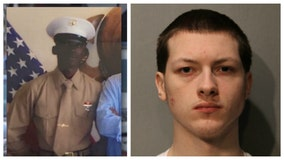 Teenager charged with shoving Marine vet in front of train, killing him