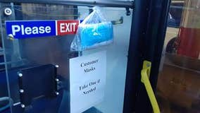 SEPTA offers masks to riders on select bus, train lines
