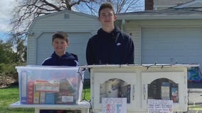 Two South Jersey brothers manage food pantry in front yard to help those in need
