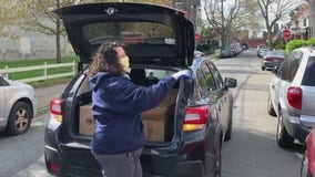Philadelphia school official gives back to the community by delivering food to those in need