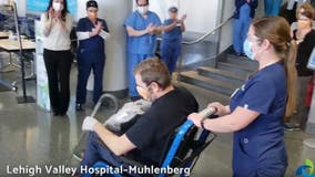First COVID-19 patient taken off ventilator at LVH-Muhlenberg discharged from hospital
