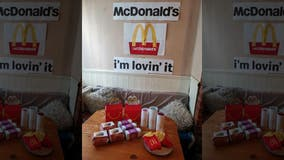 Mom creates DIY 'McDonald's' meal for kids amid coronavirus lockdown, complete with 'Happy Meal' packaging