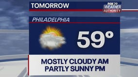 Weather Authority: Partly sunny weekend with mild temps