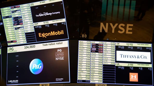 Dow pops over 1,600 points on coronavirus slowdown, new stimulus hopes