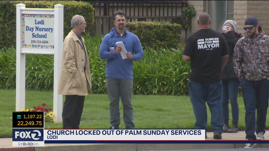 Landlord changes locks on California church after pastor said he'd continue to hold services