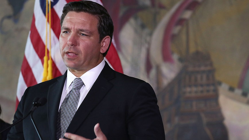 Governor DeSantis issues 'stay-at-home' order for Florida