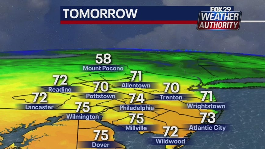Weather Authority: Sunny, mild Wednesday ahead