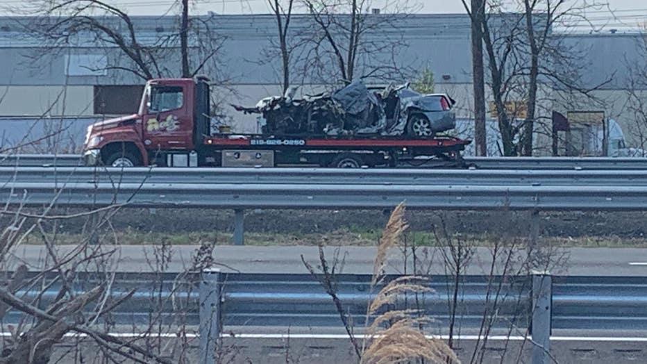Multi-fatal wrong-way crash on I-95 in Bensalem