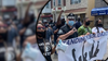 Camden Police Department marches in solidarity with protestors