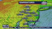 FOX 29 Weather Authority Monday 5pm update