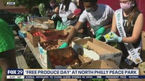 Community hosts 'Free Produce Day' at North Philly Peace Park