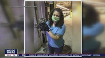 Woman rescues raccoons in Bordentown Township