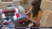 Girl, 13, sews 1,000 masks for community amid COVID-19 pandemic