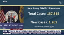 NJ officials give an update on new cases Thursday