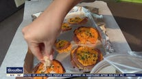 Alex shares her garlic butter smashed sweet potatoes with parmesan recipe