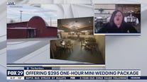 The Red Barn offering mini wedding packages