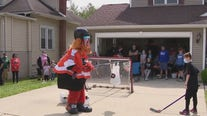 Philadelphia Flyers and Gritty surprise New Jersey boy, 11, battling cancer